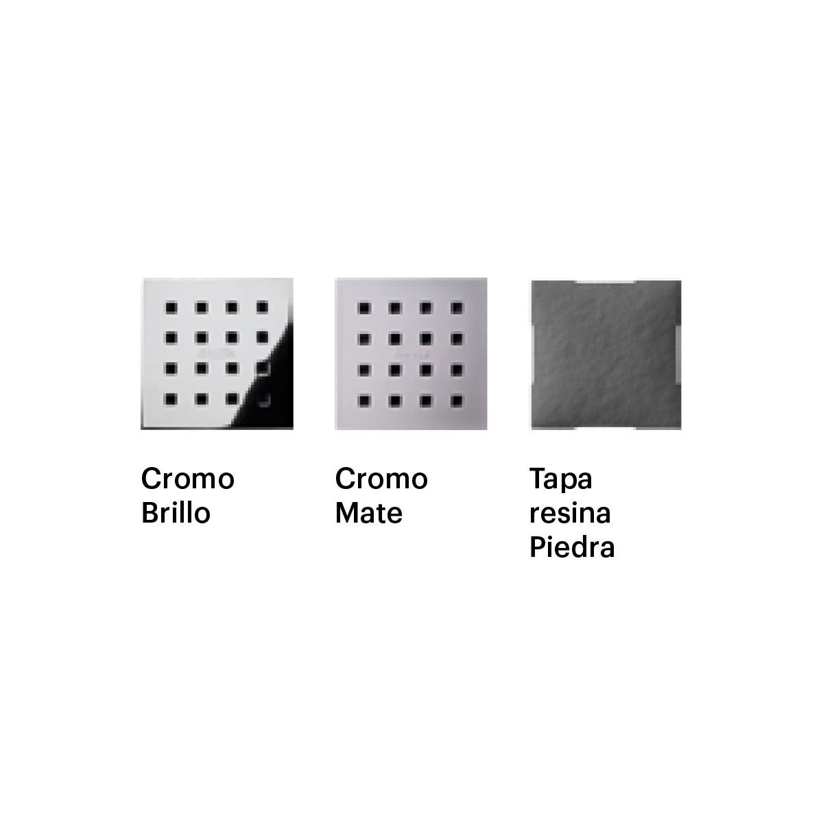 Plato de ducha Liso Seda - Platos de Ducha de Resina - Marca Doccia