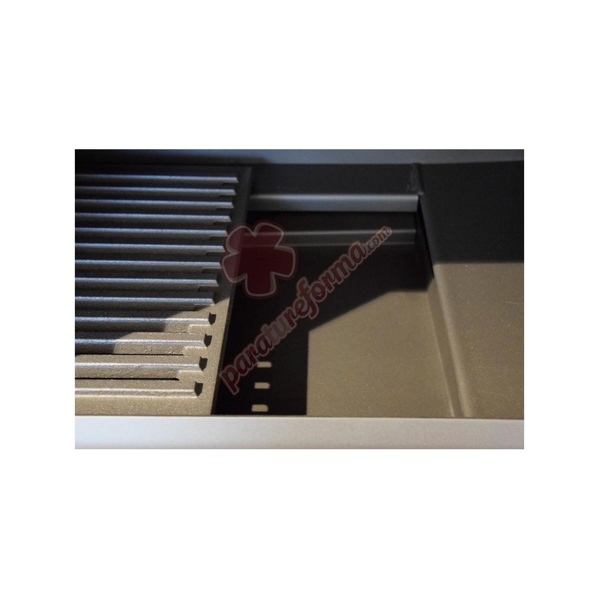 FM HL-200-R- Horno de leña esquinero barato FM Calefacción