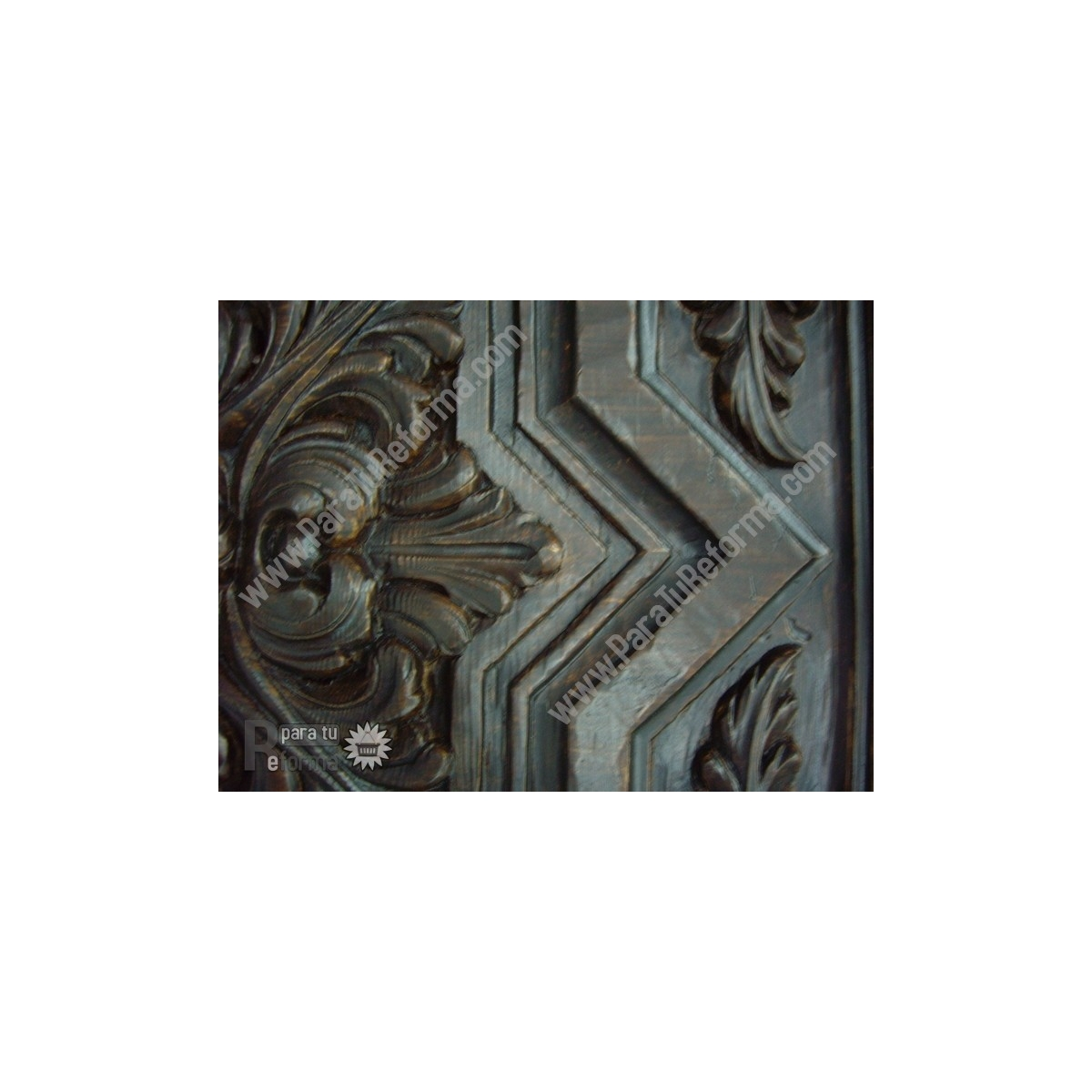 Plafón rústico imitación a madera 50x50 cm Grupo Unamacor