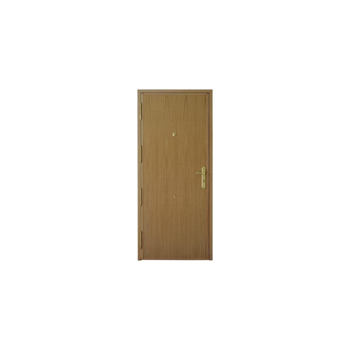 Puerta acorazada Doble Casetón en madera