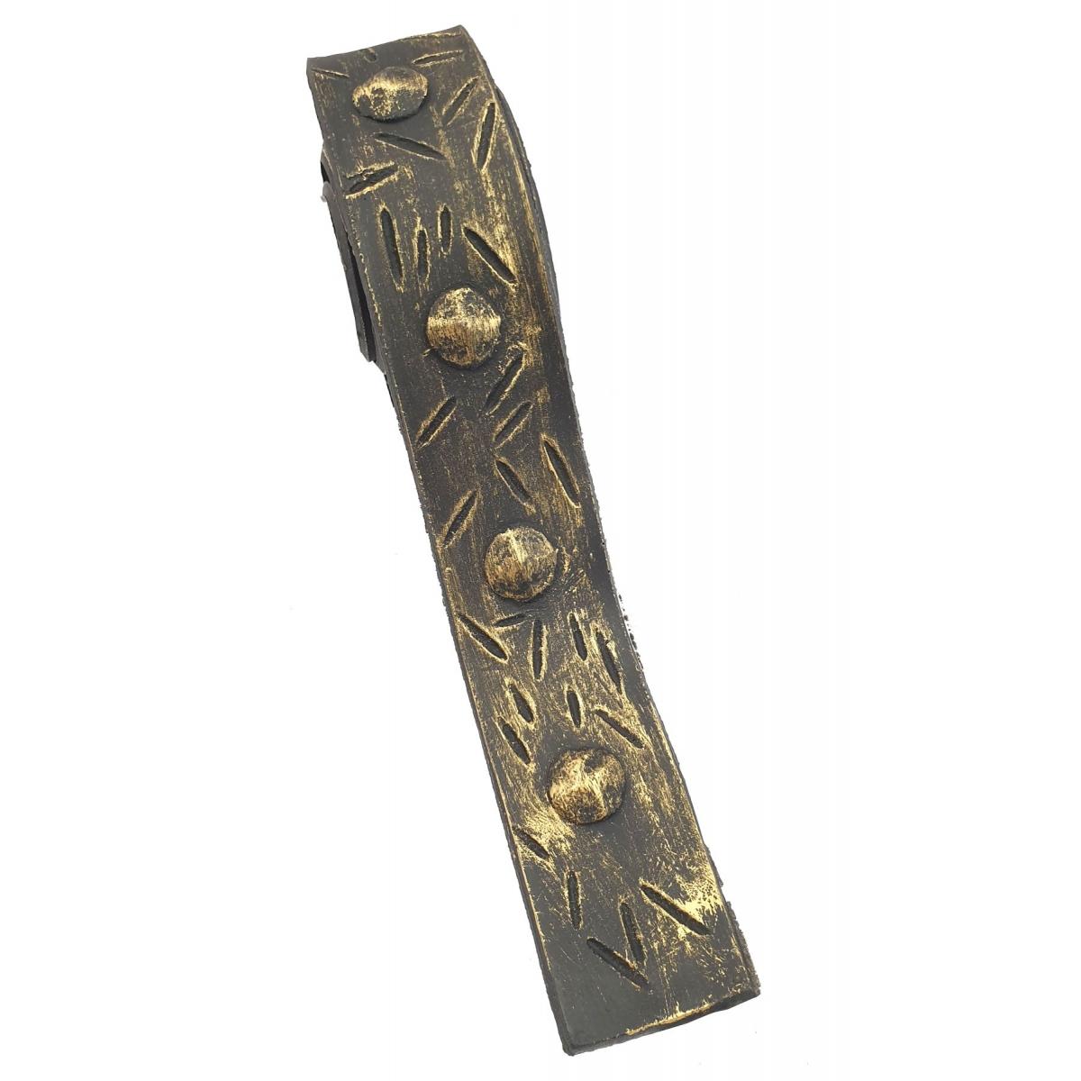 Rollo de unión imitación a forja 4 cm ancho oro viejo