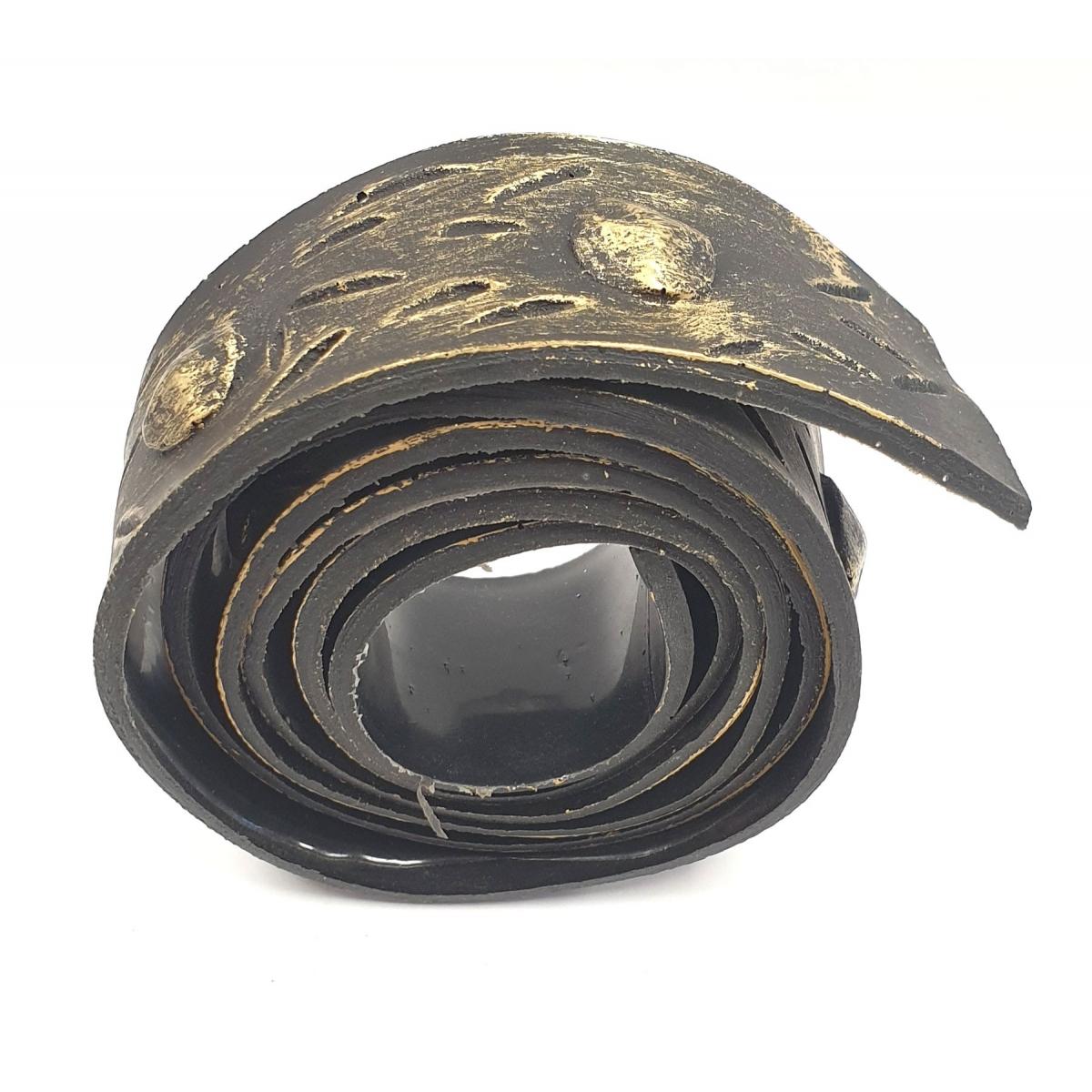 Rollo de unión imitación a forja 4 cm ancho oro viejo Grupo Unamacor