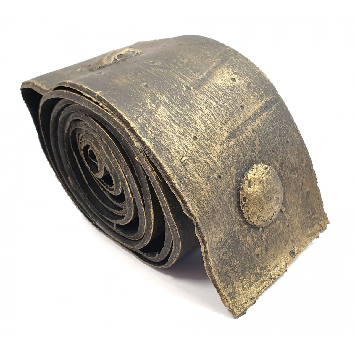 Rollo de unión imitación a forja 8 cm ancho oro viejo