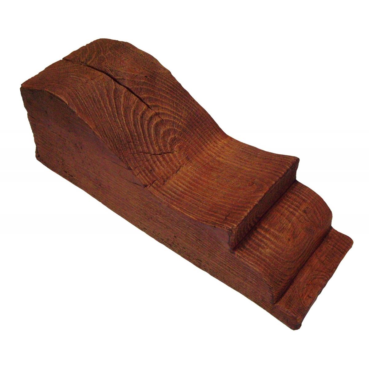 Ménsula MN50 - Ménsulas imitación madera de poliuretano - Marca Grupo Unamacor