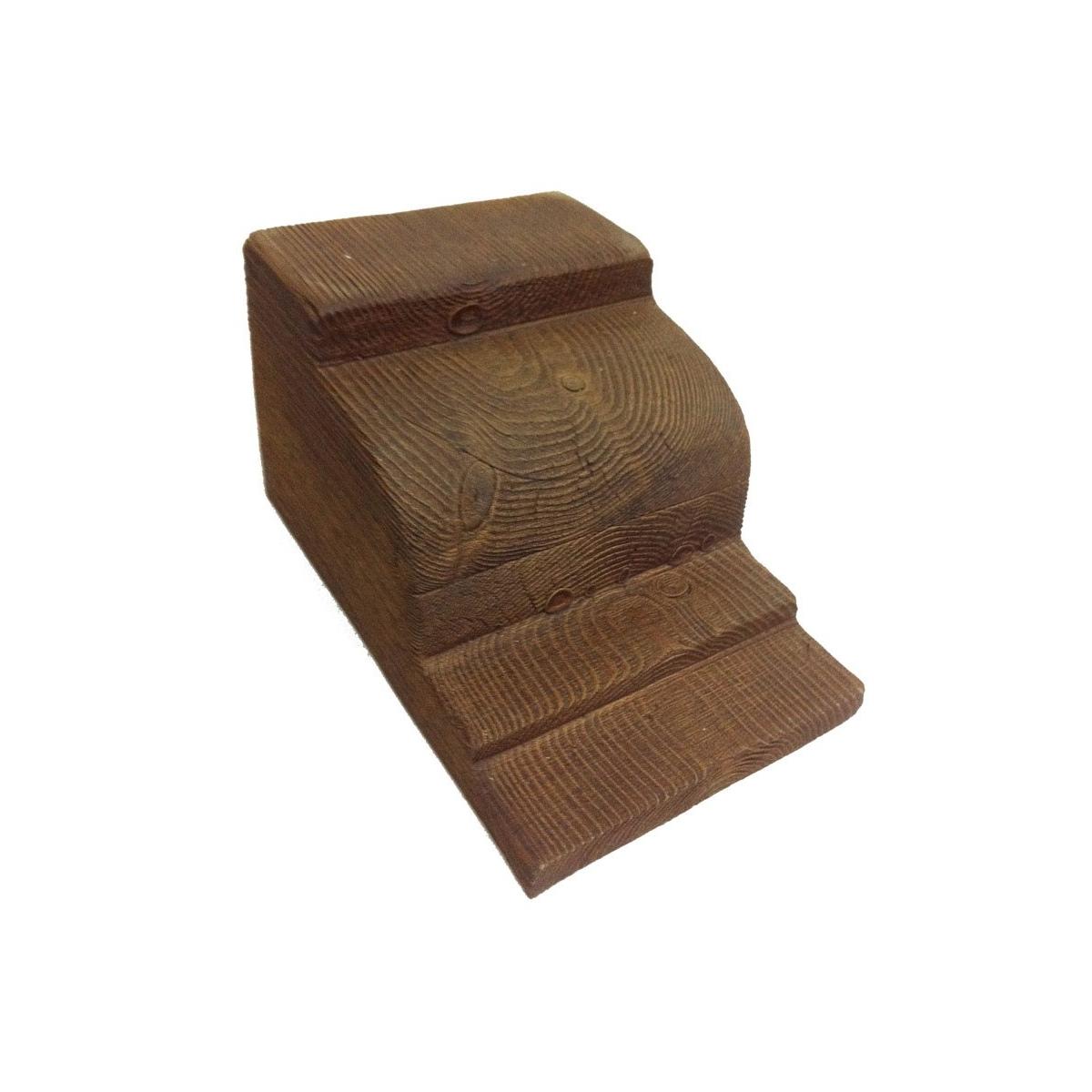 Ménsula MN21 - Ménsulas imitación madera de poliuretano - Marca Grupo Unamacor