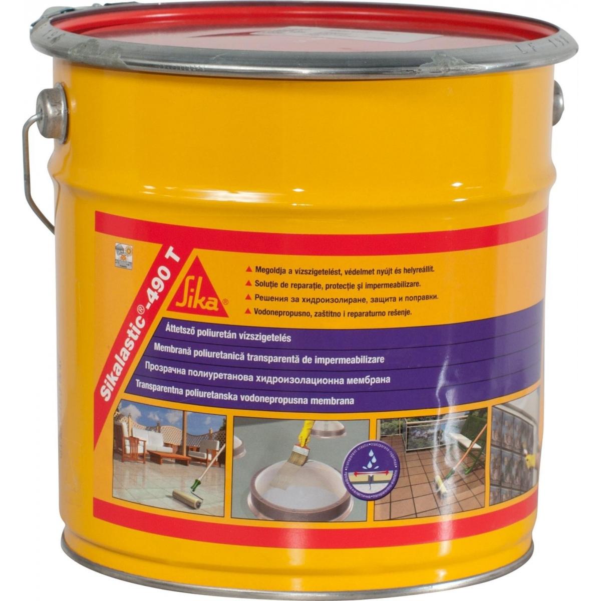 Sikalastic 495T Membrana Impermeable (5 litros)