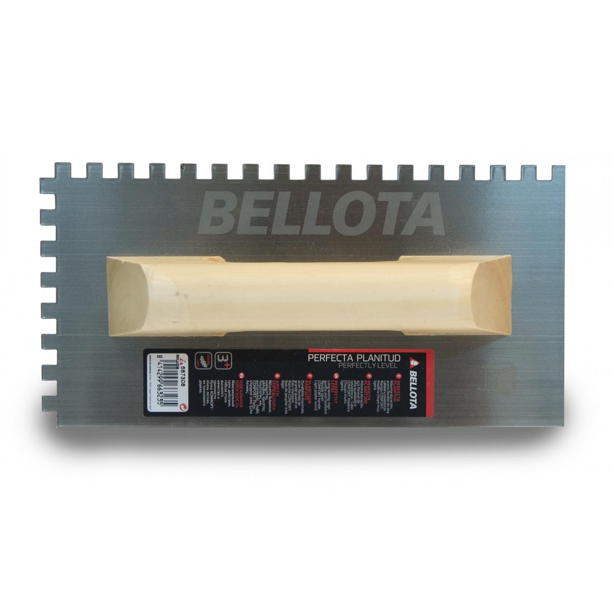 Llana dentada del 08 - Herramientas manuales para la construcción - Marca Bellota