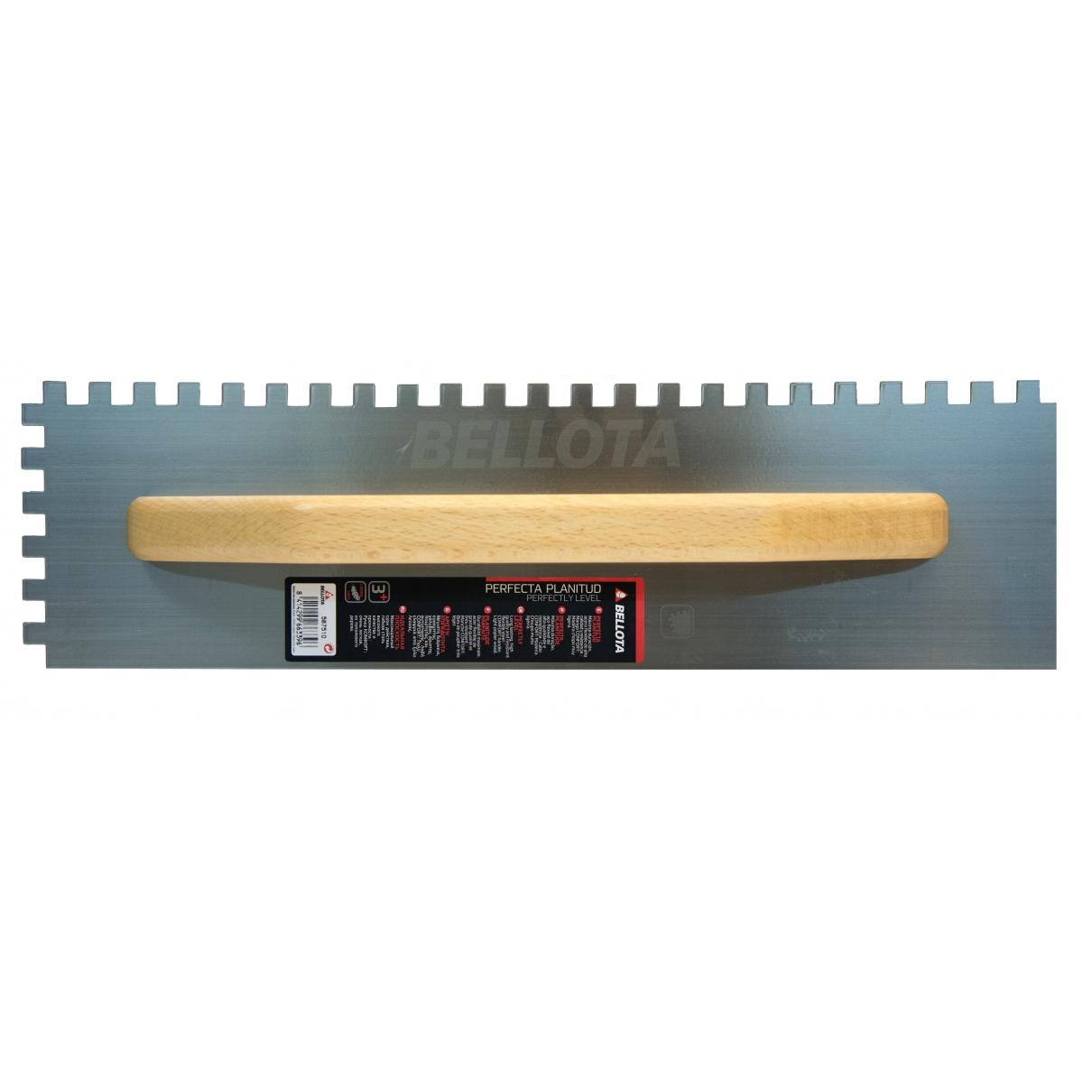 Peine dentado del 10 - Herramientas manuales para la construcción - Marca Bellota