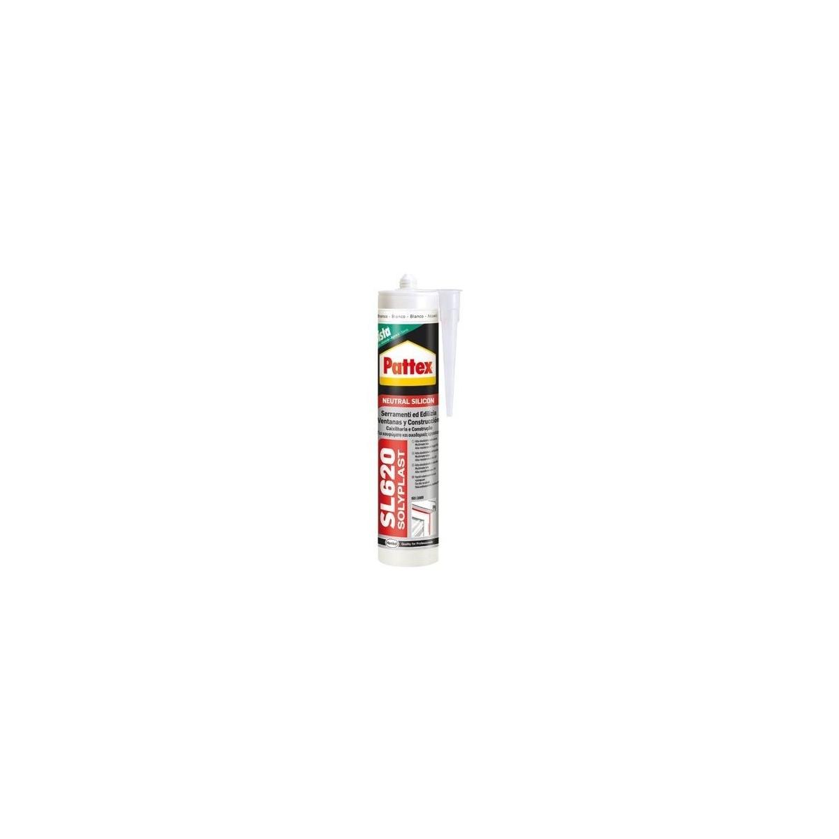 Silicona Neutra SL620 - Sellado y pegado - Marca Henkel