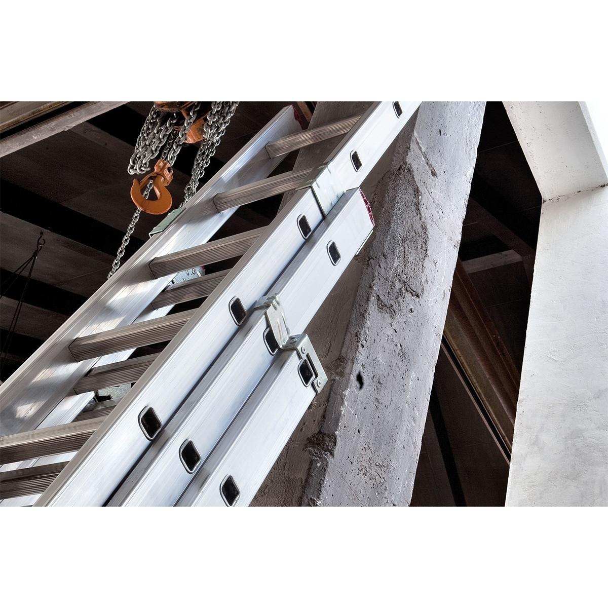 Escalera 3 tramos 9 peldaños 2.50 - 6.00 m Escaleras profesionales