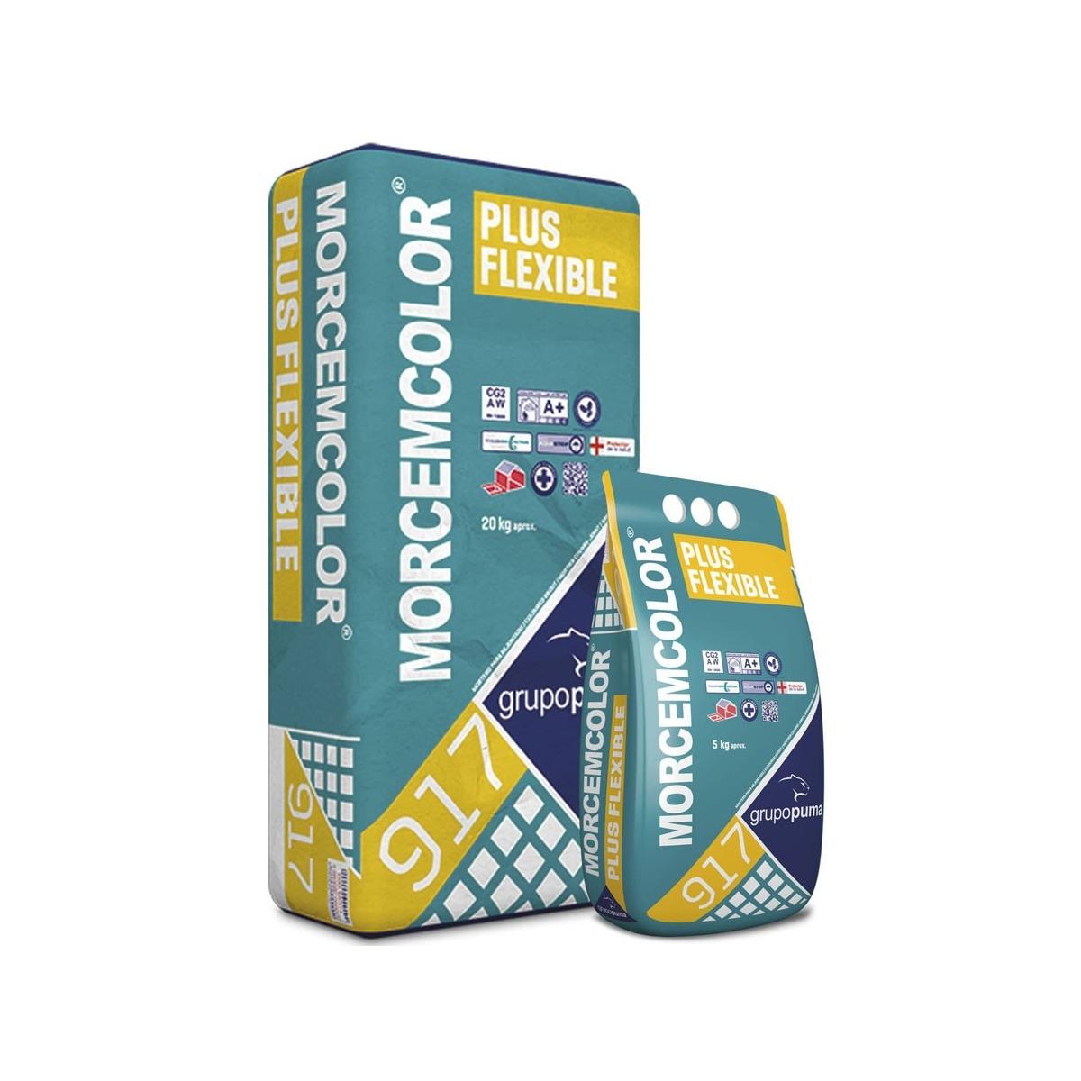 Morcemcolor® Plus Flexible blanco 20kg