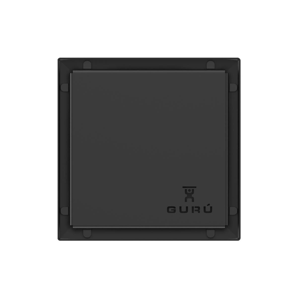 Sumidero negro para ducha Evolux Dark Liso