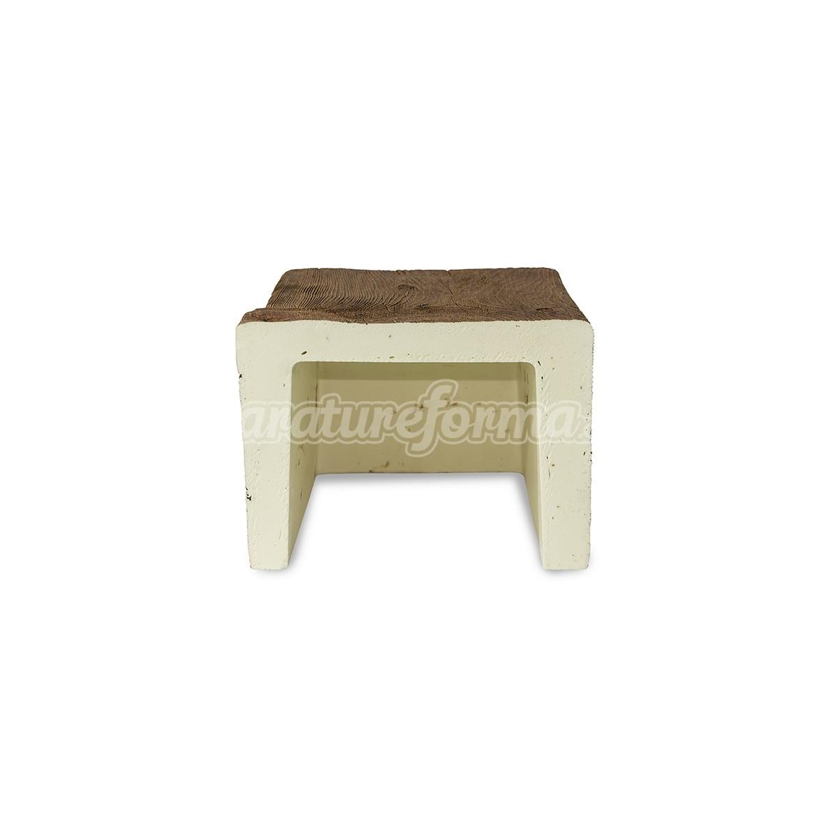 Viga 300x22,5x17,5 imitación madera Vigas imitación madera cuadradas