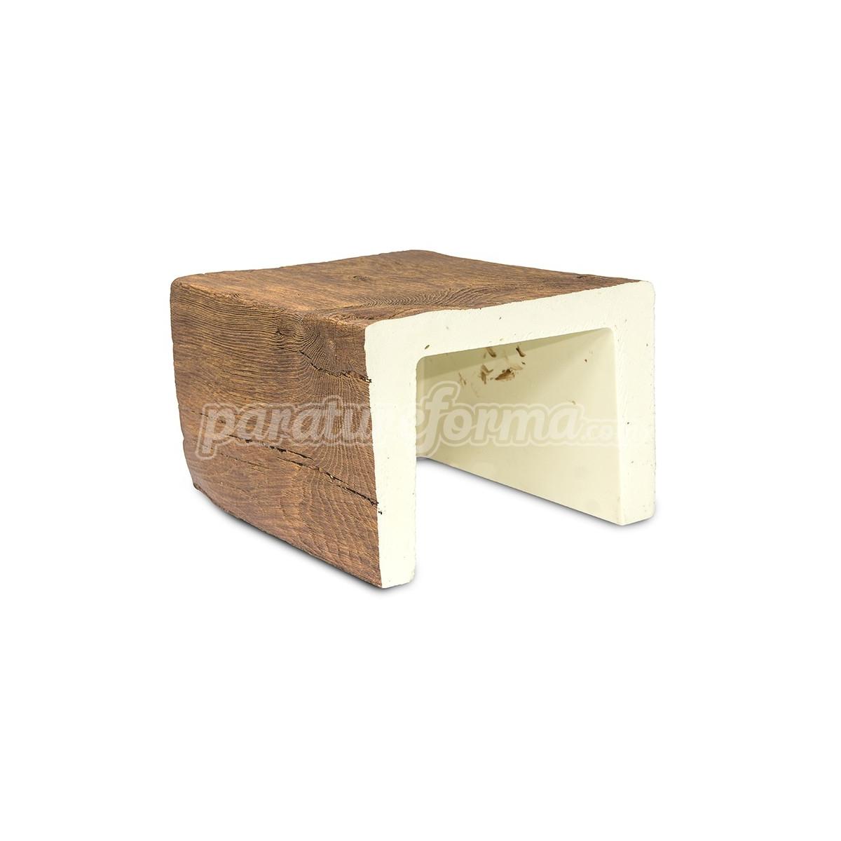 Viga 300x22,5x17,5 imitación madera Vigas imitación madera cuadradas Grupo Unamacor