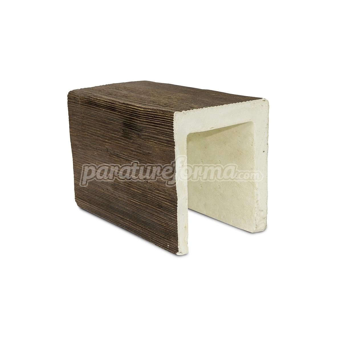 Viga 300x15x18  imitación madera Vigas imitación madera cuadradas