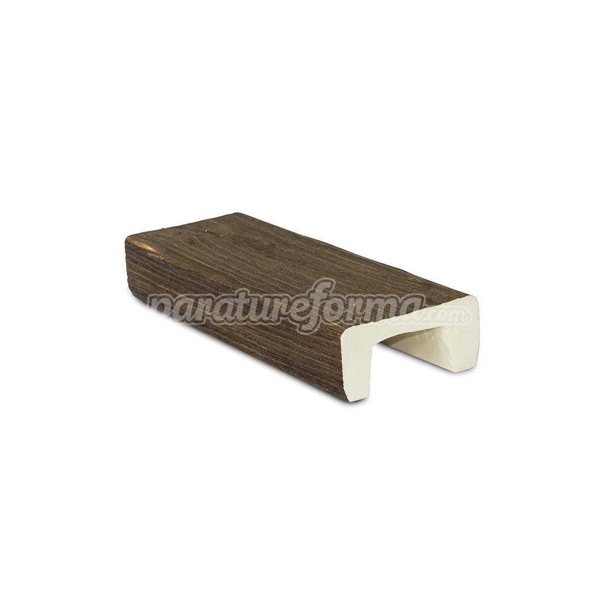 Viga 300x10x5 imitación madera Vigas imitación madera cuadradas