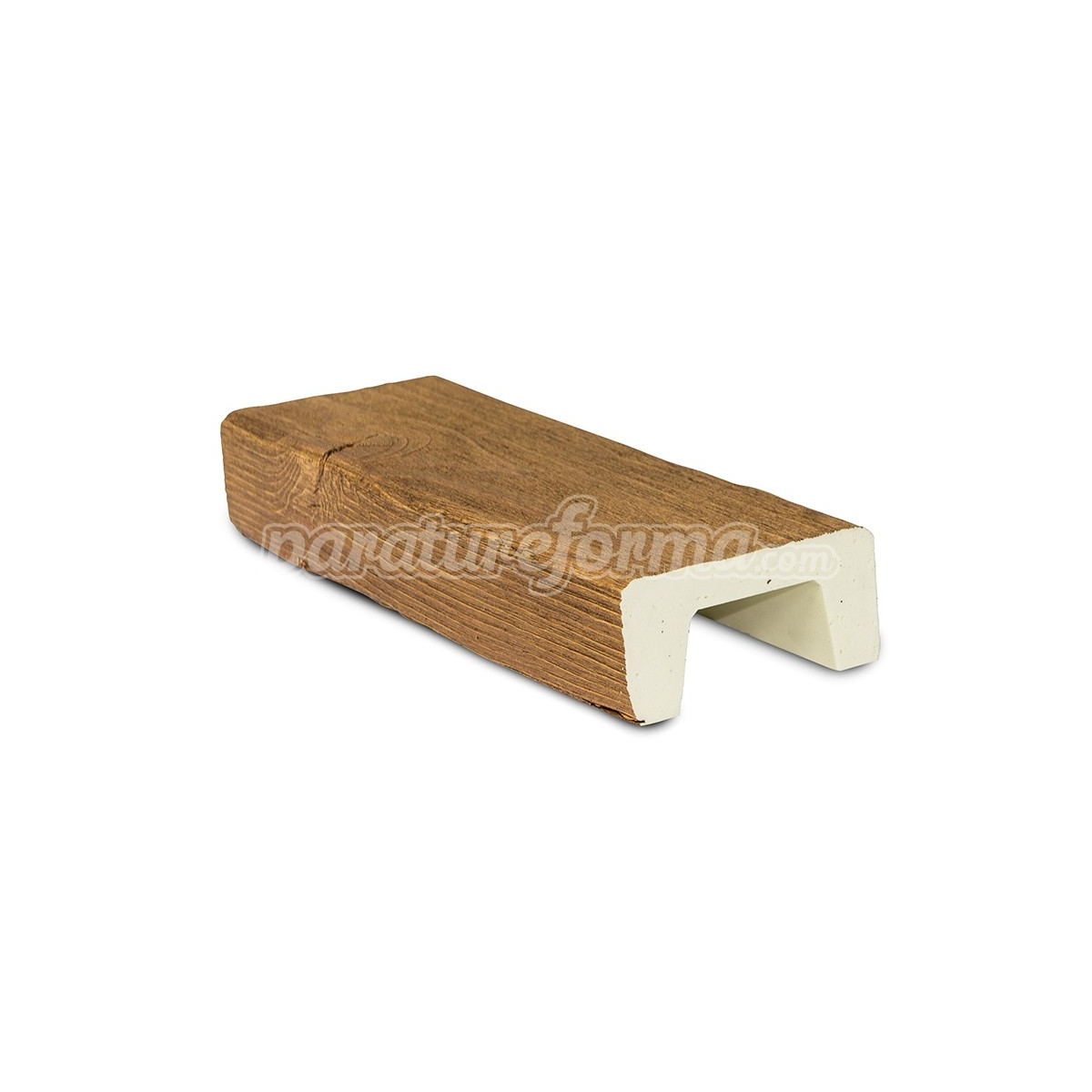Viga imitación a madera de poliuretano - Vigas imitación madera cuadradas