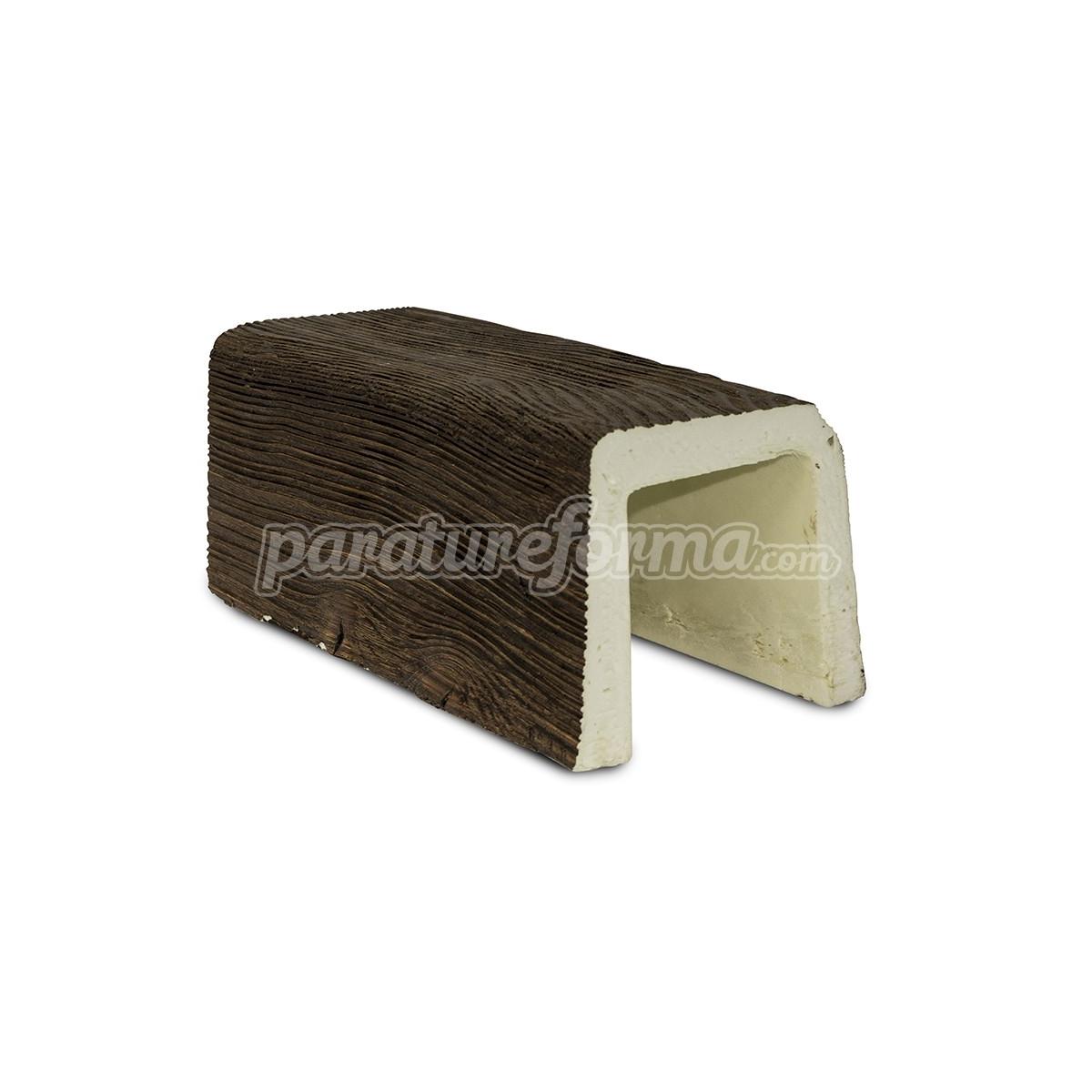 Viga 300x12x12 imitación madera Vigas imitación madera cuadradas