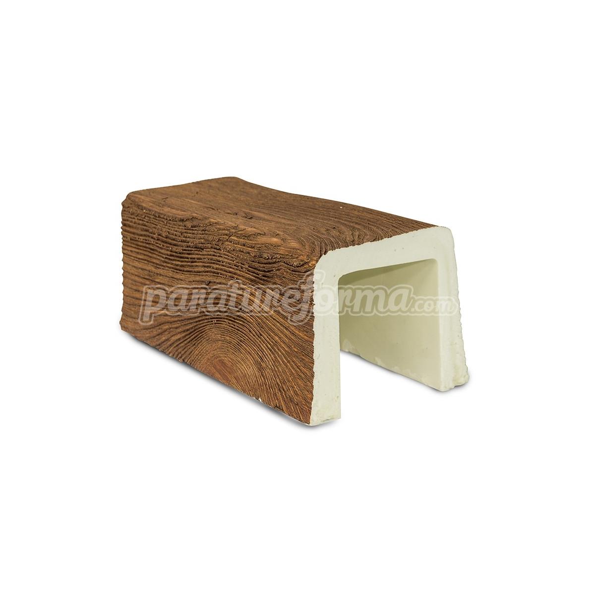Viga imitación a madera 300x12x12 - Vigas imitación madera cuadradas