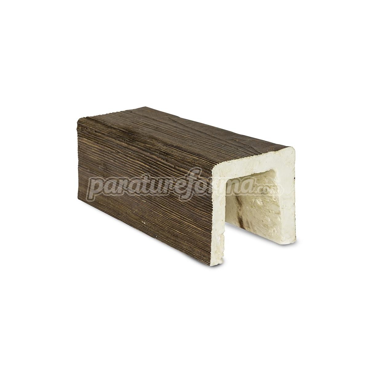 Viga 300x10x10  imitación madera Vigas imitación madera cuadradas