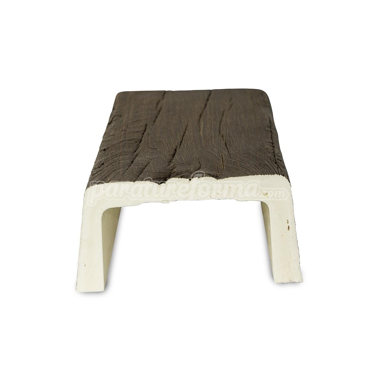 Grupo Unamacor Viga 300x14,5x8 imitación madera