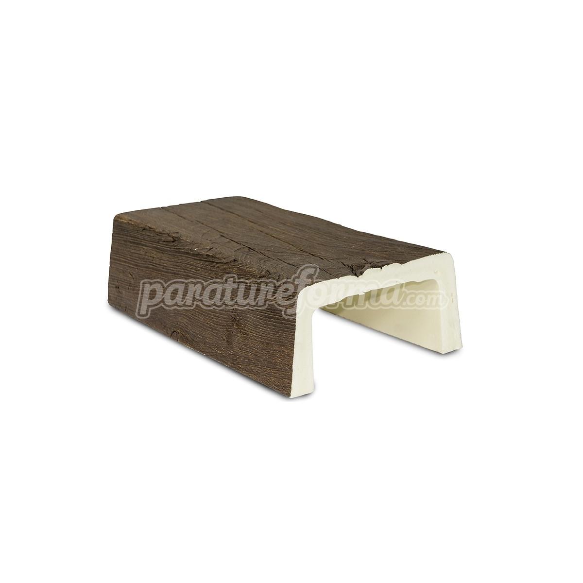 Viga 300x14,5x8 imitación madera Vigas imitación madera cuadradas