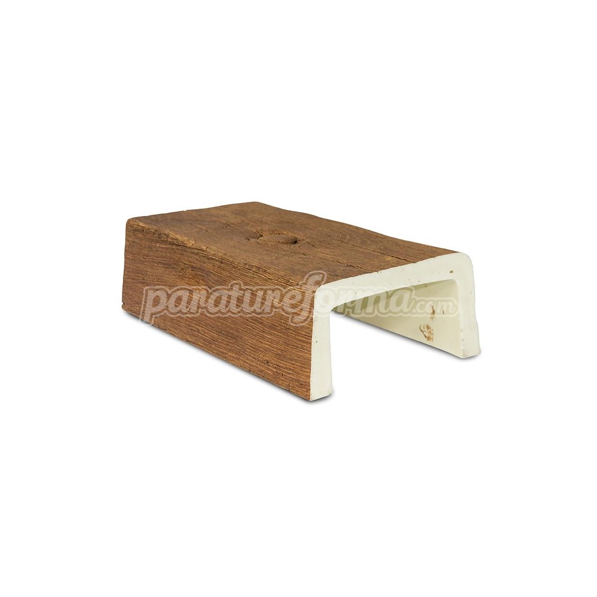 Viga imitación a madera 300x14,5x8 - Vigas imitación madera cuadradas