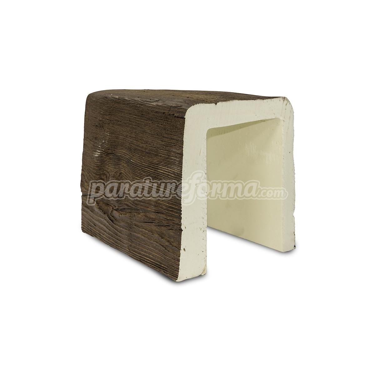 Viga 300x18x23 imitación madera Vigas imitación madera cuadradas