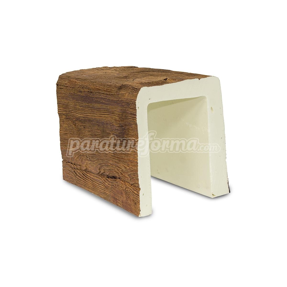 Viga imitación a madera 300x23x18 - Vigas imitación madera cuadradas
