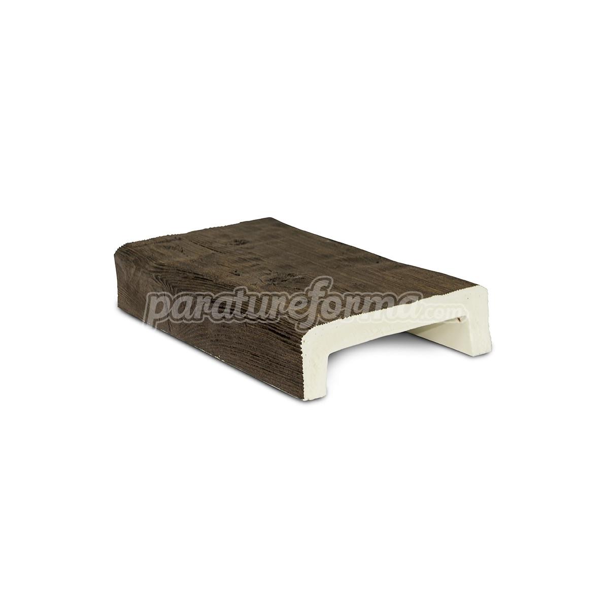 Viga 300x16x4,5 imitación madera Vigas imitación madera cuadradas