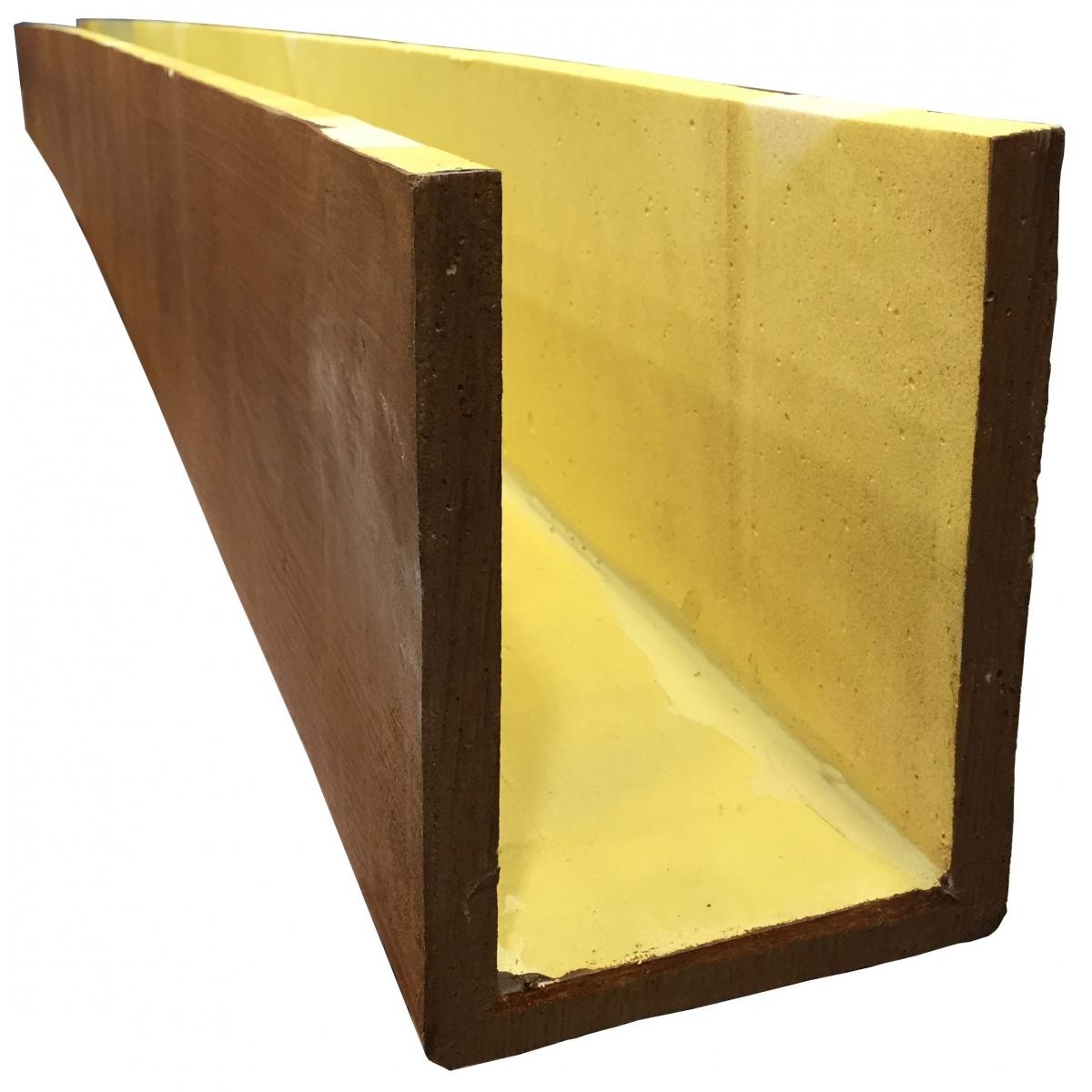Viga imitación a madera 300x19x20