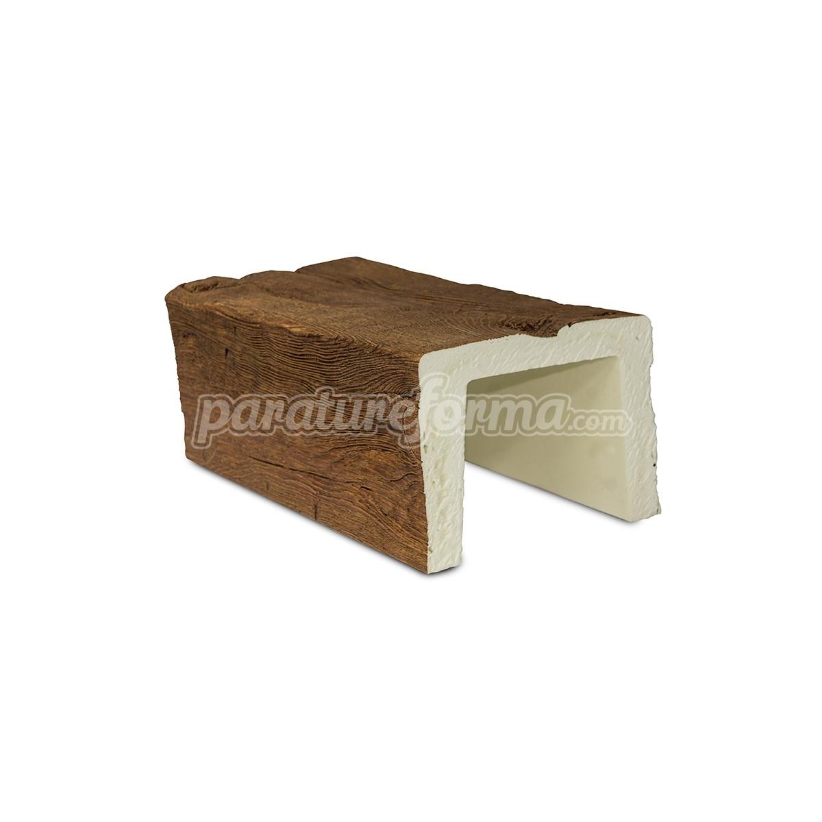 Viga 300x16x13 imitación madera Vigas imitación madera cuadradas Grupo Unamacor