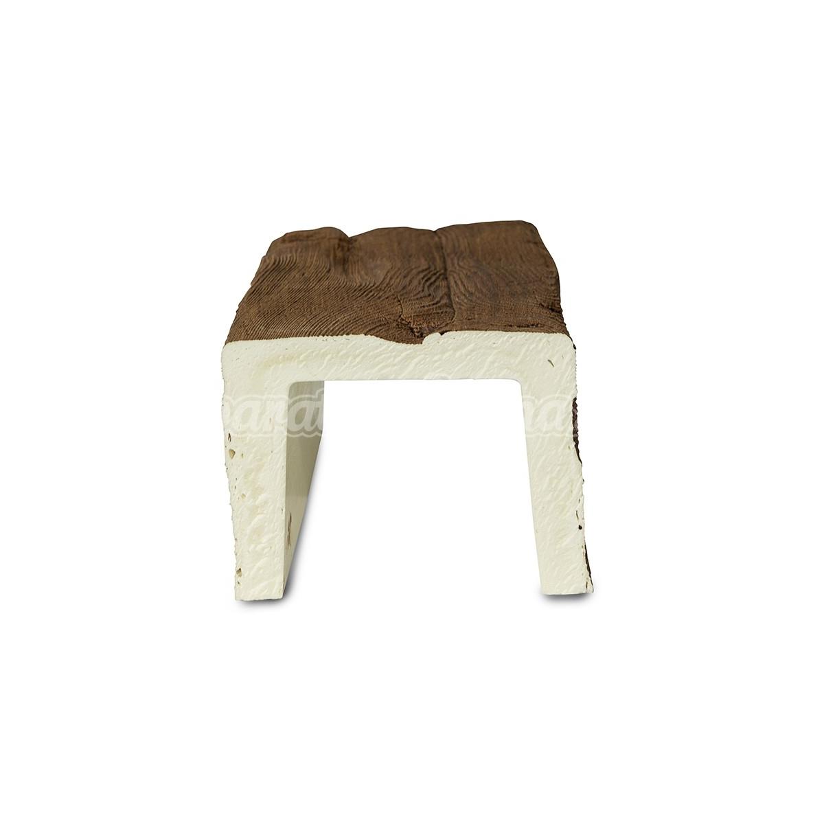Viga imitación a madera 300x16x13 Grupo Unamacor Vigas imitación madera cuadradas
