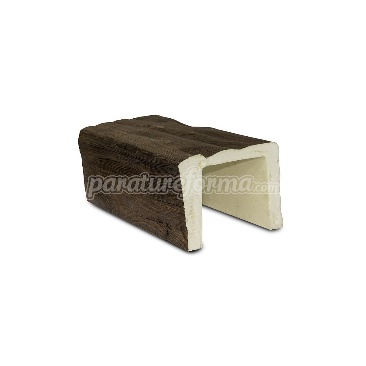 Viga imitación a madera 300x12,5x8 Grupo Unamacor Vigas imitación madera cuadradas