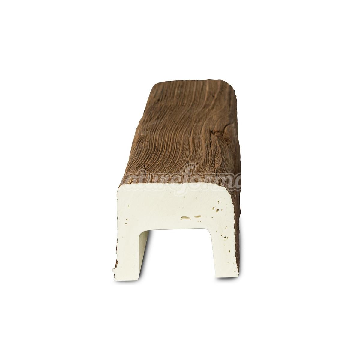 Viga imitación a madera 300x7x5,5 - Vigas imitación madera cuadradas