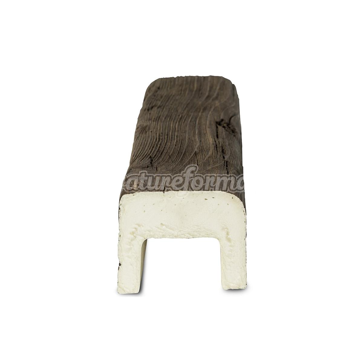 Viga imitación a madera 300x7x5,5 Grupo Unamacor Vigas imitación madera cuadradas