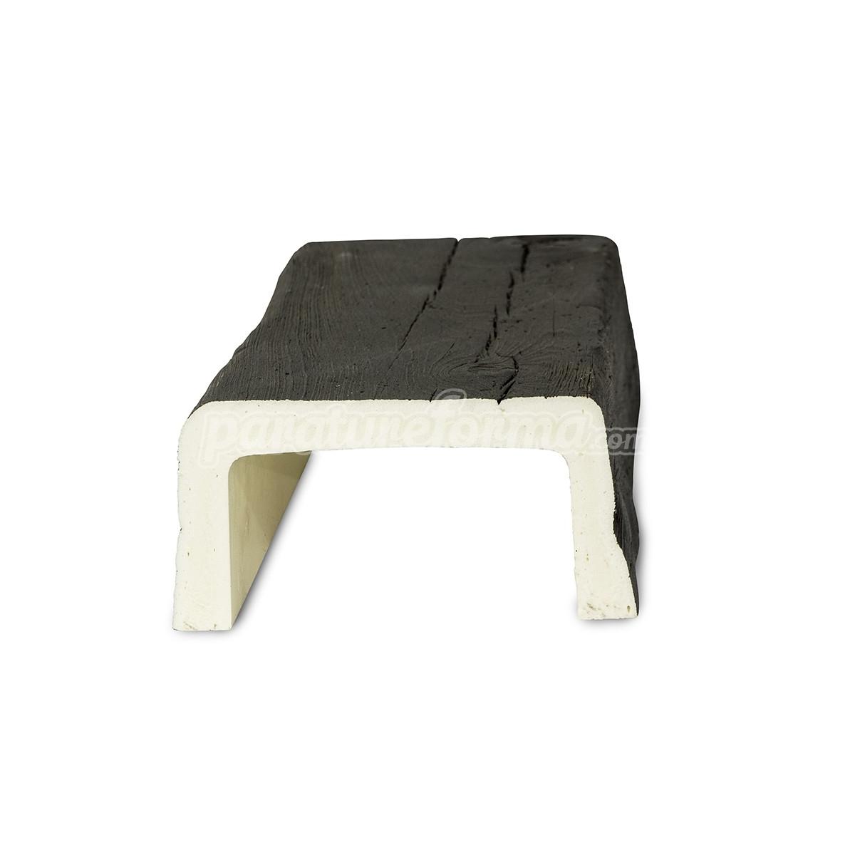 Vigas imitación madera cuadradas Grupo Unamacor Viga imitación a madera 300x14,5x8 al mejor precio