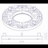 Apoyo fijo 10-15mm para Plots para suelo flotante - Sistemas para pavimentos flotantes - Marca Peygran