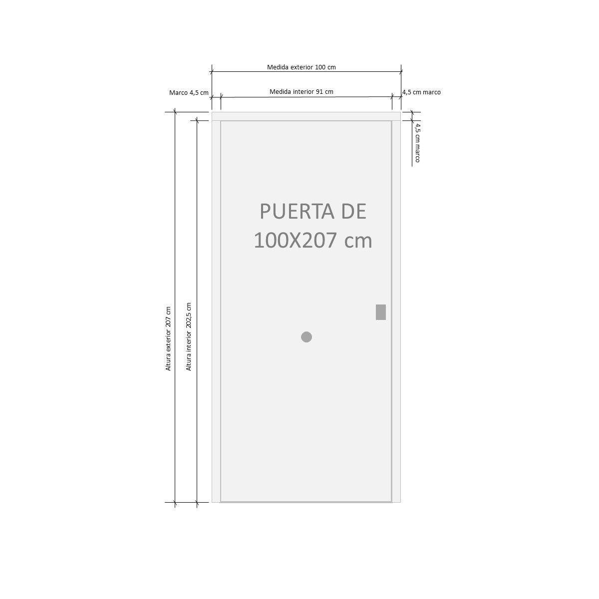 Puertas acorazadas Serie B4-BL Cearco Puerta acorazada Lisa al mejor precio