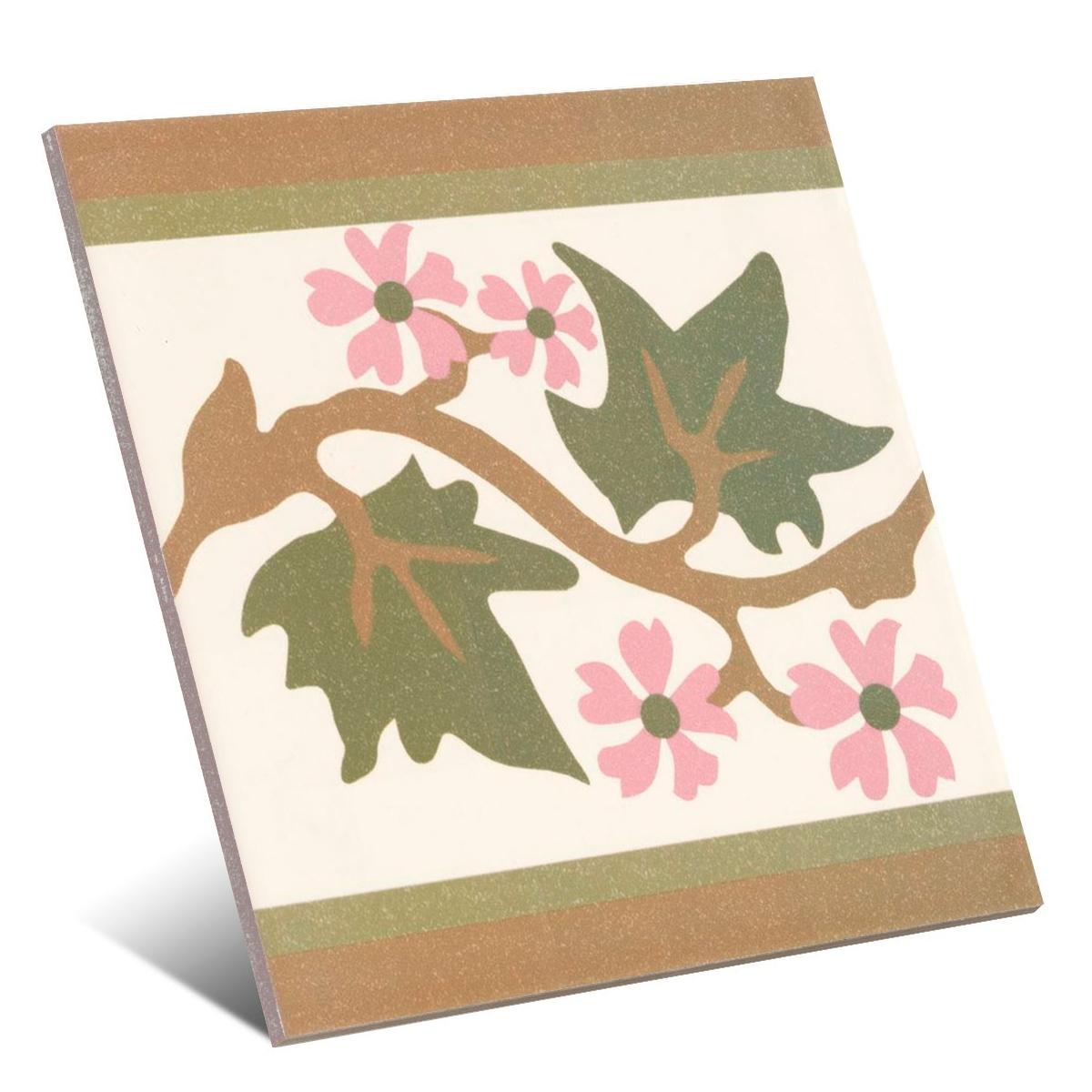 Cenefa Azahar 20x20 (caja 1 m2)