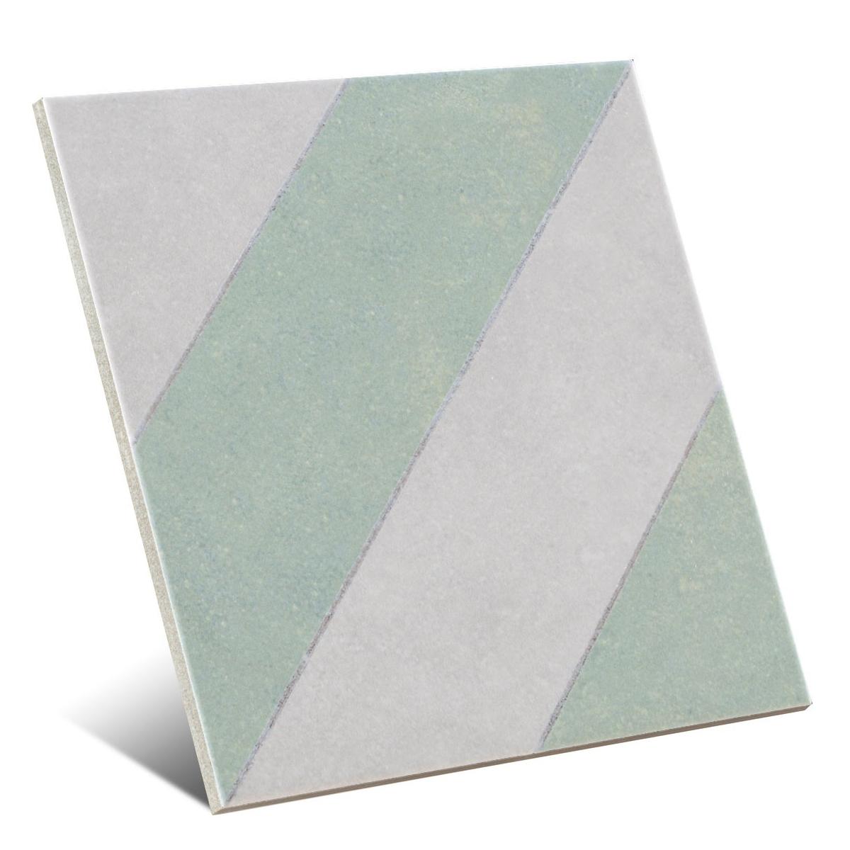 Diagonals Sage 22,3x22,3 (caja 1 m2)
