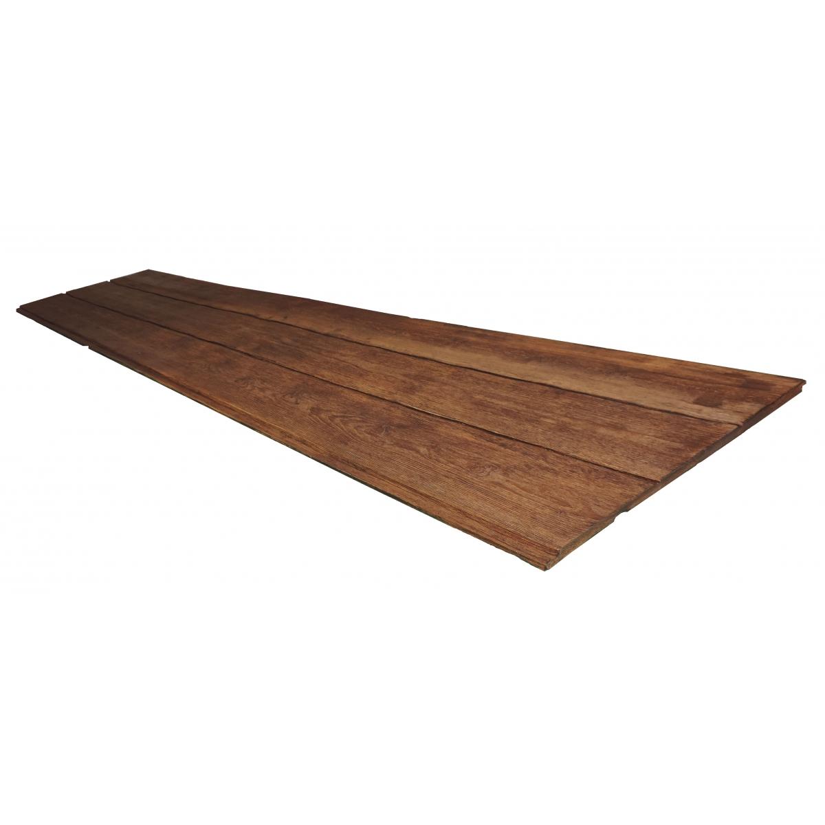 Panel rústico de tres lamas imitación madera de 300x62cm