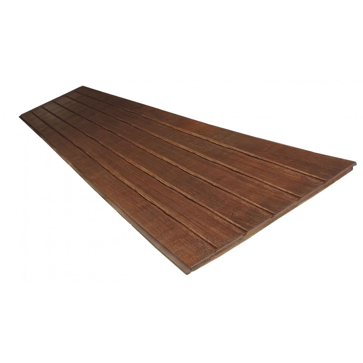 Panel rústico de seis lamas imitación madera de 300x62cm
