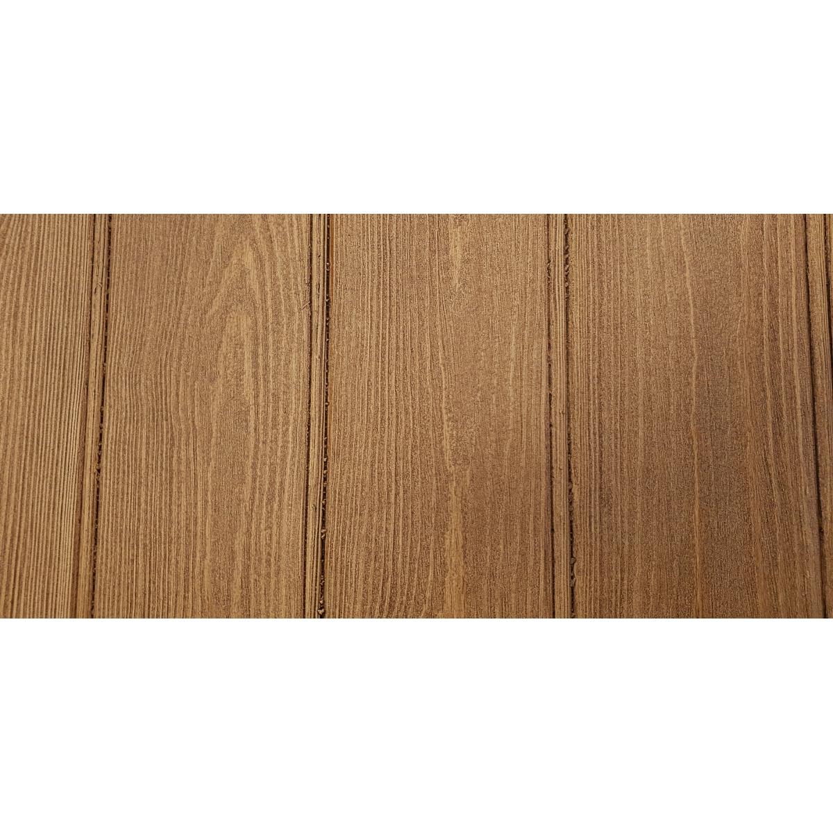 Panel rústico de seis lamas imitación madera de 300x62cm Grupo Unamacor