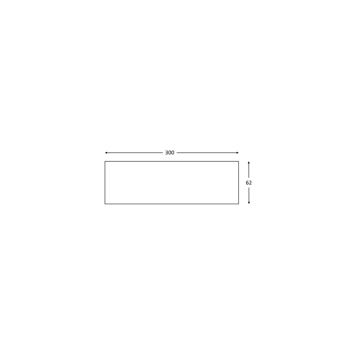 Panel rústico sin lamas imitación madera de 300x62cm Grupo Unamacor