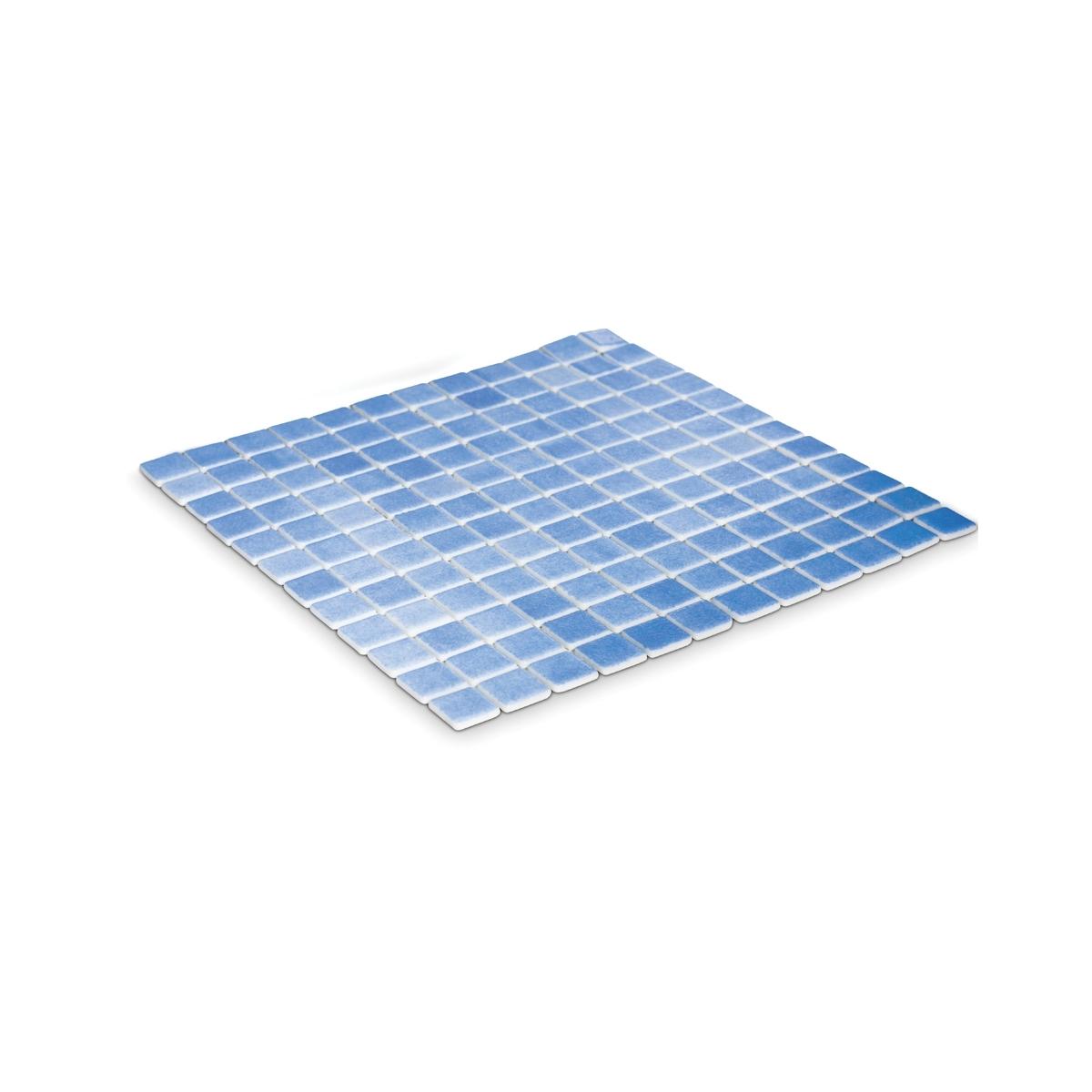 Vidrepur Revestimiento decorativo 110 azul niebla para fachadas, baños y piscina