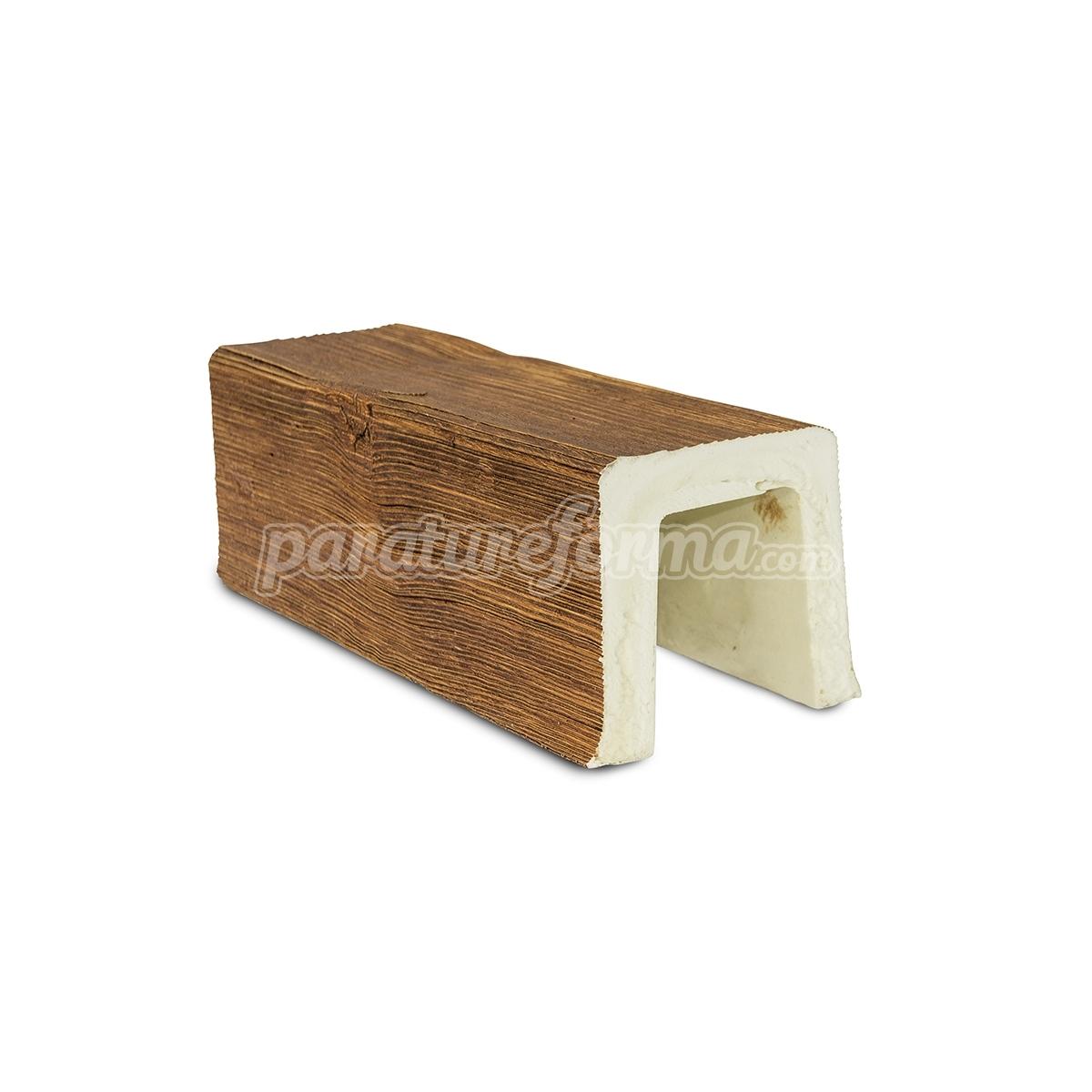 Viga 200x10x10 imitación madera Vigas imitación madera cuadradas