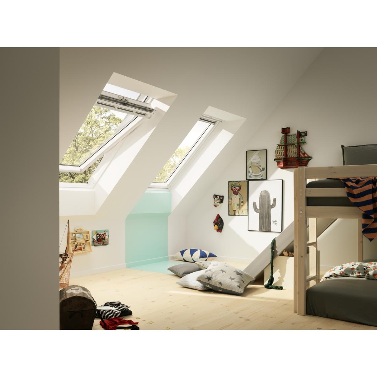 Ambiente habitacion ventana giratoria VELUX