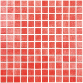 Gresite rojo niebla (m2) - Gresite colores nieblas - Marca Vidrepur