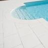 Borde de piscina remate curvo Grenoble